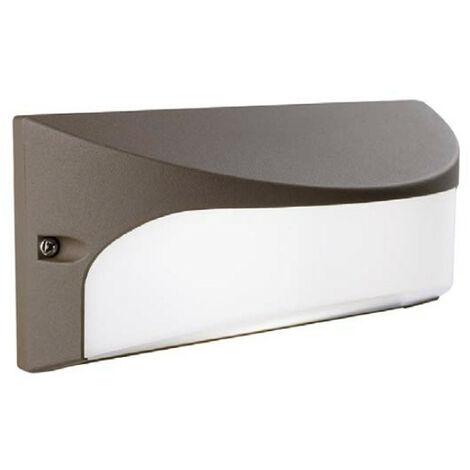 Apliques de exterior Sovil de la cámara DOMO con LED 10W 3000K Marrón 98145/27