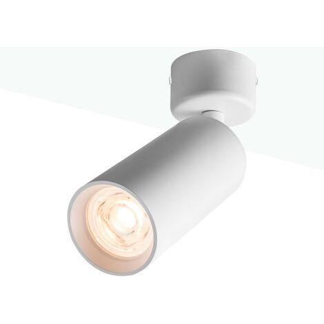 Apliques de pared y techo para bombilla GU10 Orientable 360º