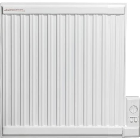 Apo Eco Oil Filled Electric Thermostatic Wall Mounted Radiator 350w