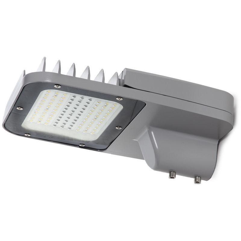 Apparecchio LED IP66 60W 140Lm/W Lumileds 3030 Driver Meanwell HLG | Bianco Freddo (GMD-STL06-60-CW) - GREENICE