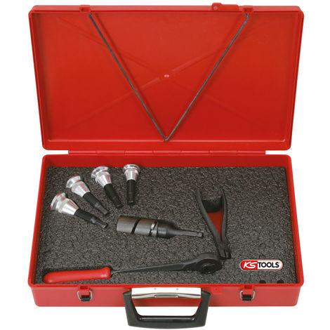 KS TOOLS Set collier 12-28mm, 8 pcs.
