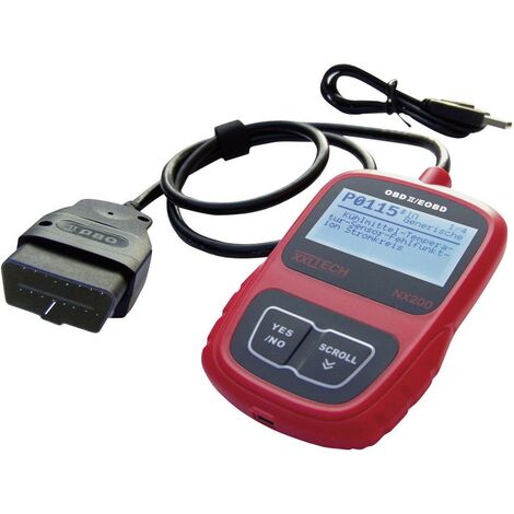 Appareil de diagnostic OBD 2/EOBD NX200 XXL Tech C34834