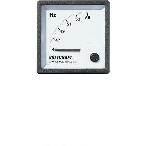 Appareil de mesure analogique à encastrer VOLTCRAFT AM-72X72/50HZ Q72353
