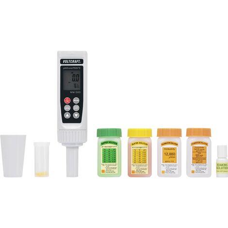 Appareil de mesure combiné VOLTCRAFT WM-500 pH, ORP, température, conductivité, TDS et salinité 1 pc(s) W514811