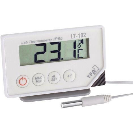 Appareil de mesure de température TFA Dostmann LT-102 301034 Plage de mesure -40 à +70 °C sonde NTC conforme HACCP 1 pc