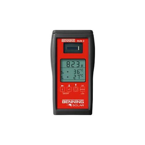 Appareil de mesure d'ensoleillement et de température SUN2 BENNING 1 PCS