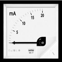 Appareil de mesure encastrable 72 x 72 mm Lumel MA17 50A/60mV 50 A/DC (60 mV) Cadre mobile