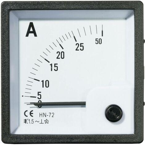Appareil de mesure encastrable analogique VOLTCRAFT AM-72X72/25A
