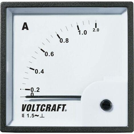 Appareil de mesure encastrable analogique VOLTCRAFT AM-72X72/50HZ