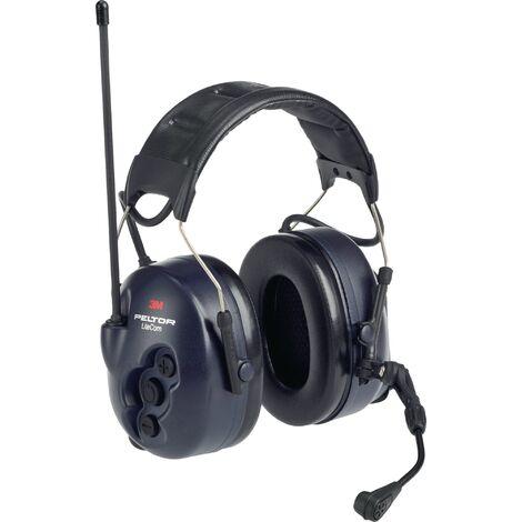 Appareil radio avec protection auditive Peltor LiteCom microphone vocal communication en champ proche EN 352-1:2002 EN 352-3:2002 32 dB