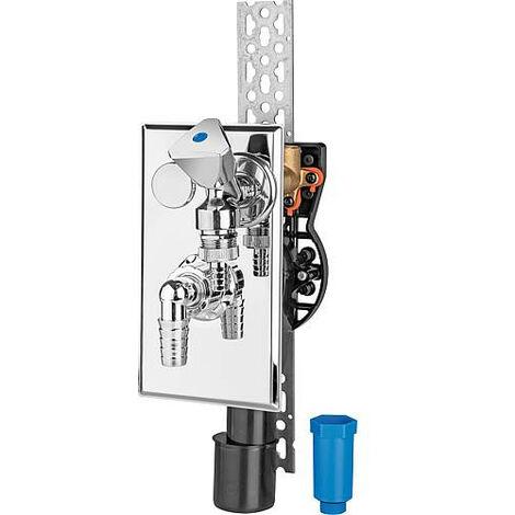 Appareil Siphon encastree PE pour montage vertical NW 40/50