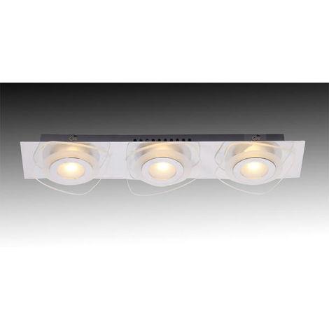 3 Applique Lo Blanc Lampes Waxion Verre Lo00011537 Design Led OkPZTwuXi