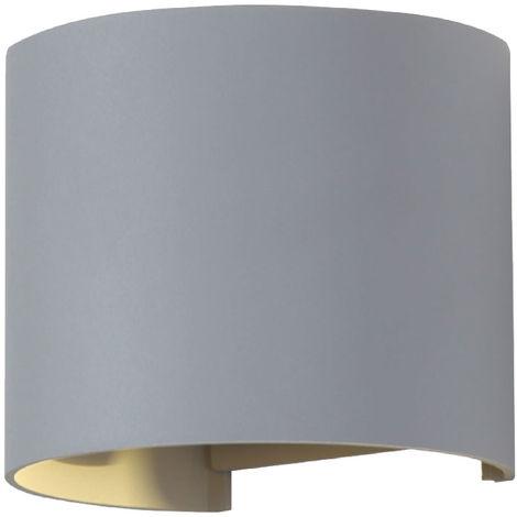 Applique à LED, en fonte d'aluminium, UP DOWN VT -756G