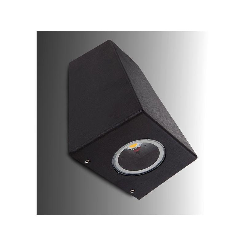 Applique a LED IP54 2X3W 600Lm 30.000H Addison | Bianco Caldo (MDW12-2-WW) - GREENICE