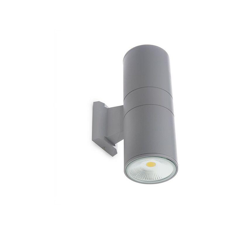 Applique a LED IP65 2X20W 3200Lm 30.000H Claire | Bianco Caldo (HO-COBWALL-2X20-CW) - GREENICE