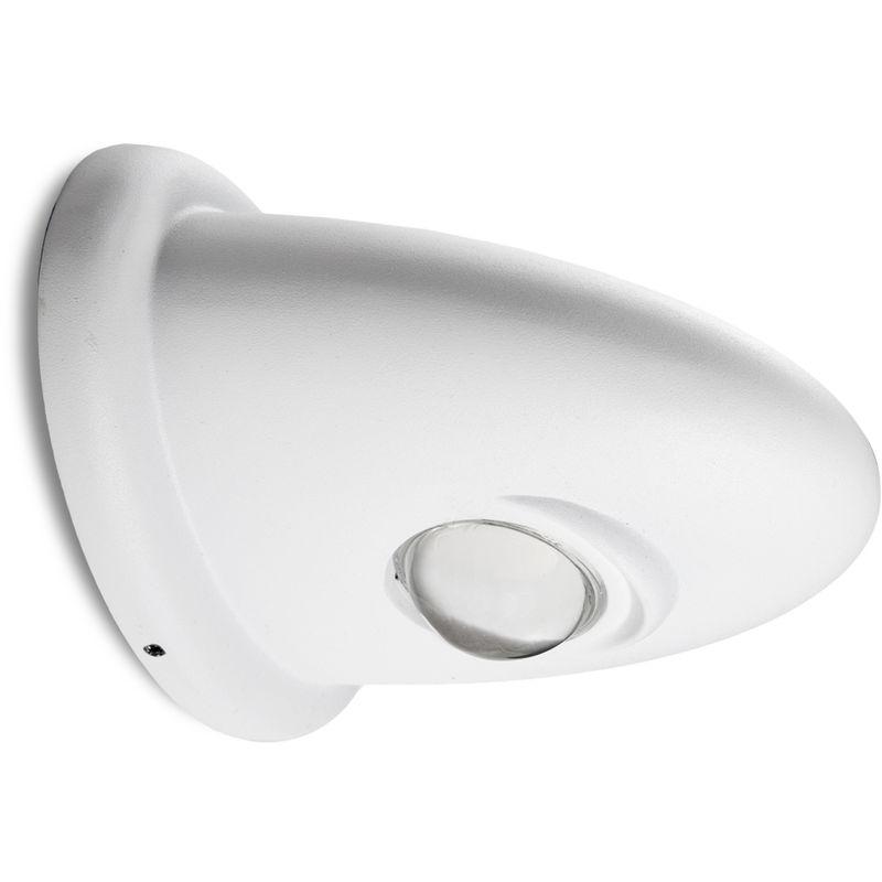 Applique a LED IP65 5+5W 900Lm 30.000H Genesis | Bianco Caldo (TH-857-WW)