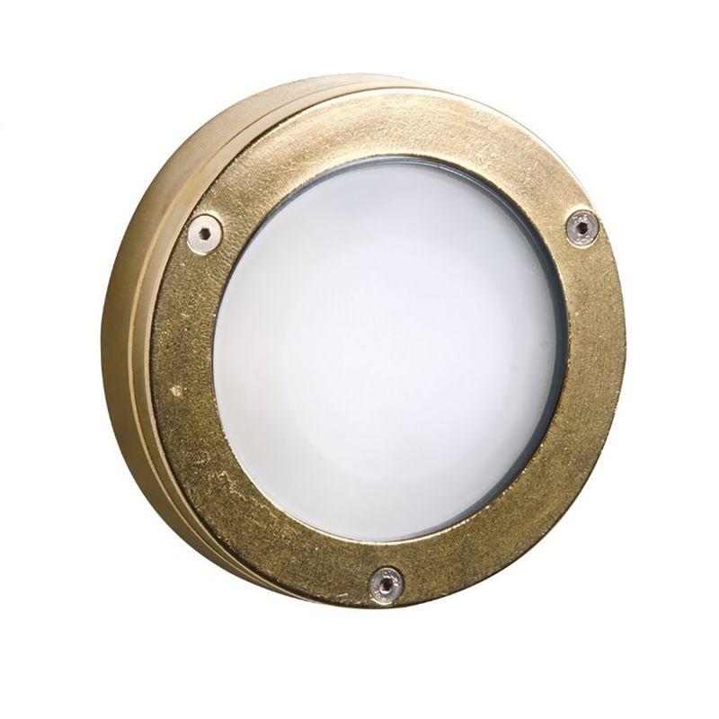 Applique sol 1 esterno ottone lampada parete soffitto classica gx5.3 ip65 - Lampadari Bartalini