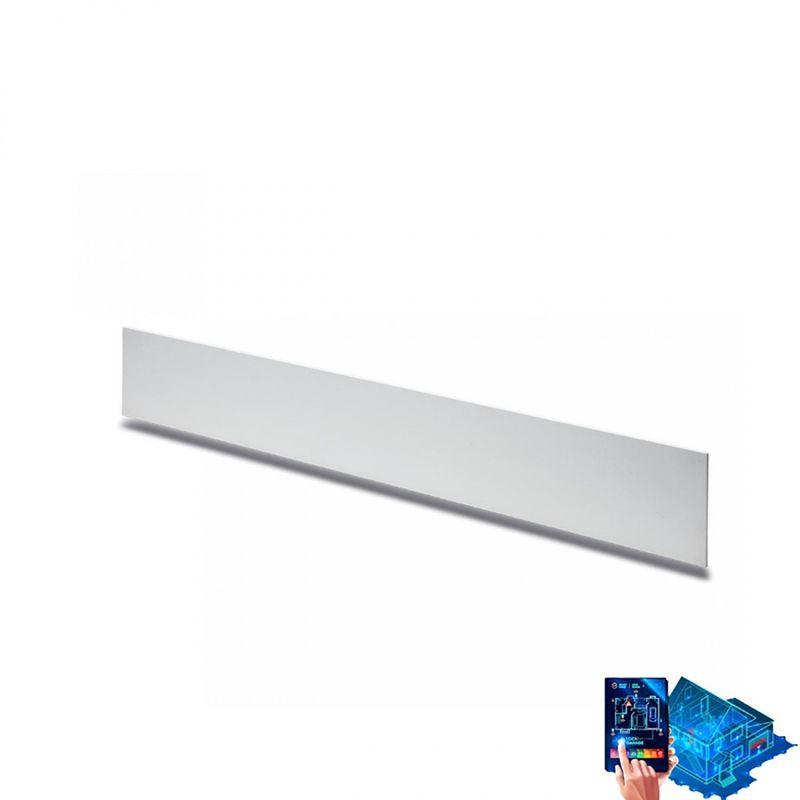 Belfiore-9010 - Applique belfiore 9010 2421c 37w led 4200lm wireless 75cm gesso verniciabile lampada parete biemiessione interno - BELFIORE - 9010