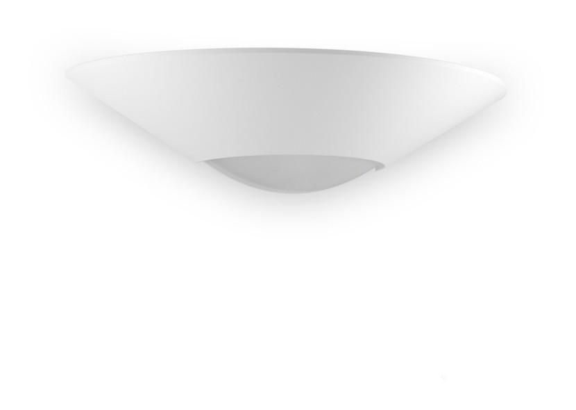 Applique bf w led gesso bianco verniciabile modulo