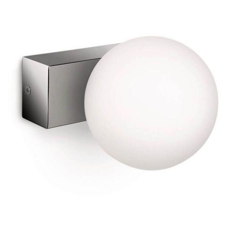 Applique boule salle de bains Drops IP21 H10 cm - Chrome - Chrome ...