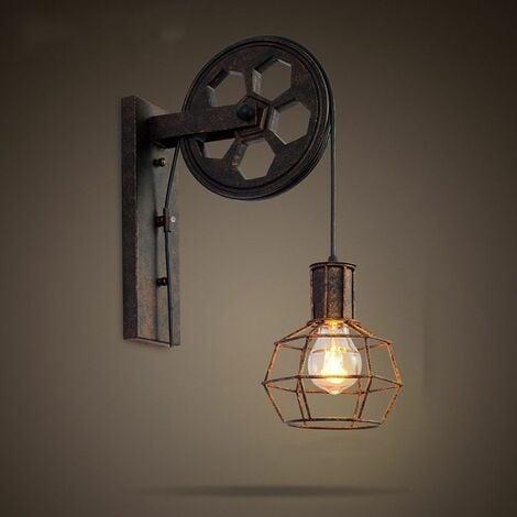 Applique Creative style industriel rétro lampe de mur Loft