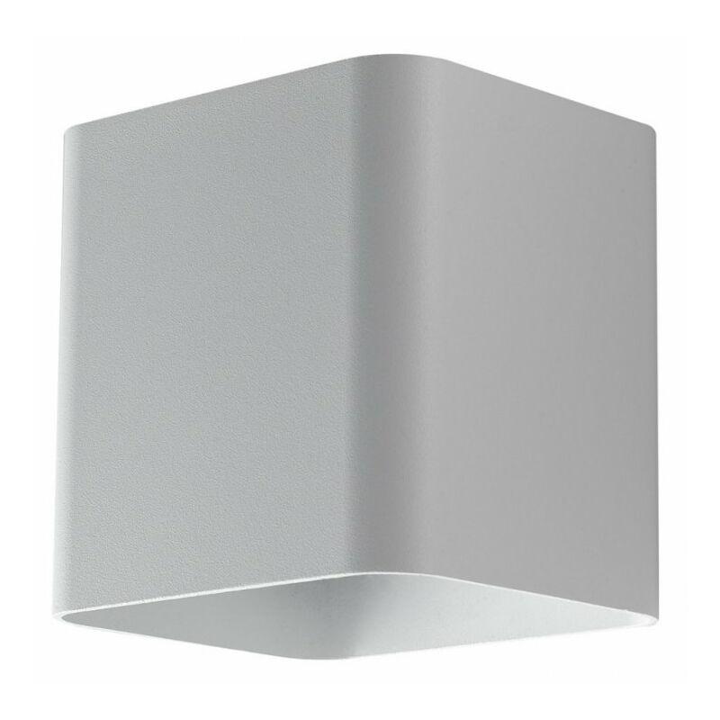 Applique Led Biome Bianco 7W 630Lm 4000K Ip54 11X11X9,5Cm - INTEC