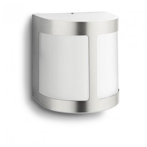 Applique Cm Led Parrot Ip44 Argent Cylindrique Aluminium H13 dBrexCo