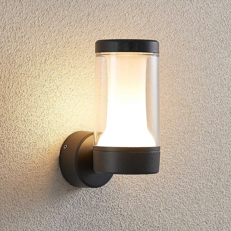 Applique da esterni LED Amily, grigio scuro - LAMPENWELT