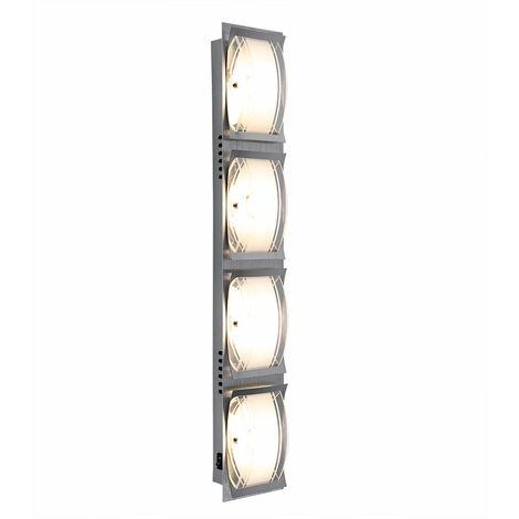 20 Éclairage Led Chrome Del Cob Watts Mural Lampe Verre Applique Luminaire wX8OkNnZ0P