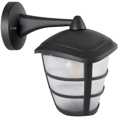 Applique d'extérieur télécommande lampe de jardin de terrasse lanterne de projecteur dimmable dans un ensemble comprenant des ampoules LED RGB