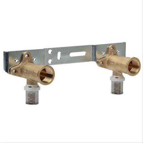 Applique double Multicouche à sertir Somatherm (TH) F1/2(15/21) Dn16. 150mm Somatherm
