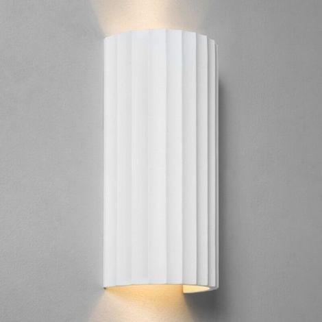 Applique en plâtre Kymi 300 - Blanc