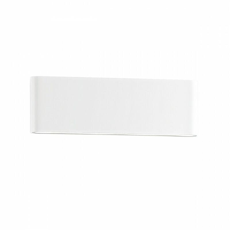 Applique esterno ges883n ip54 led 4000°k alluminio lampada parete moderna biemissione - Gea Led