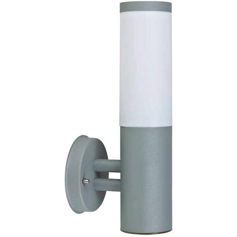 Applique extérieur E27 grise ARLES 33 cm