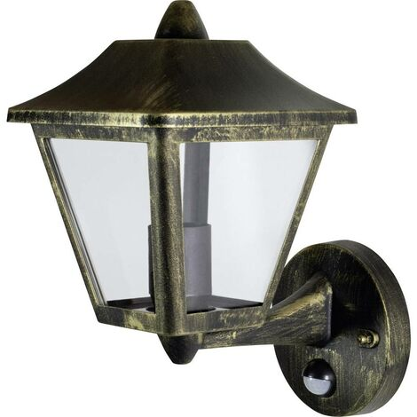 Applique extérieure avec détecteur de mouvement LEDVANCE ENDURA® CLASSIC TRADITIONAL ALU L 4058075206281 E27 N/A