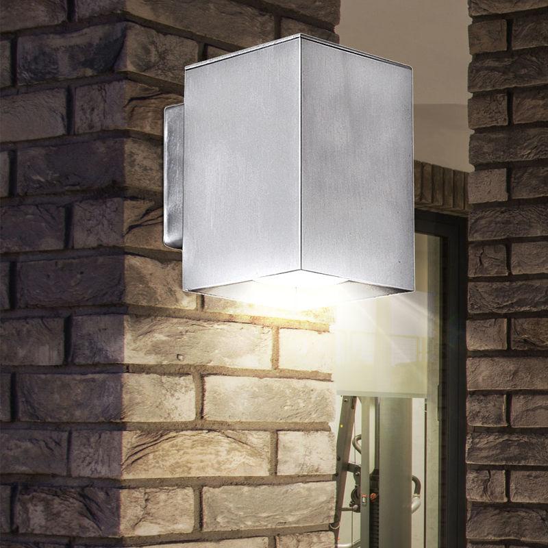 Aluminium Jardin Led Spot Luminaire Applique Mural Del Lampe Extérieure Terrasse bgY6yf7v