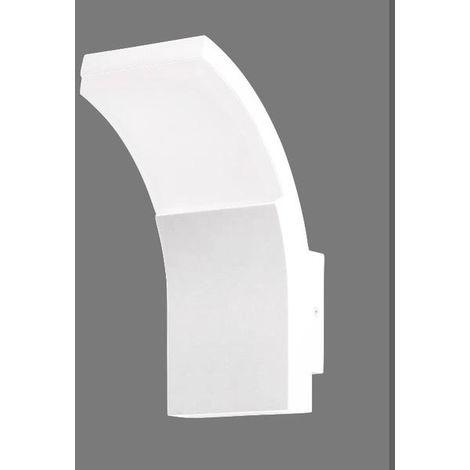 Applique Extérieure Led Lo Design Dakotta Blanc Fonte Daluminium