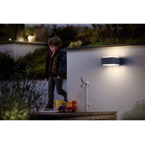 Applique extérieure Philips Lighting Hedgehog 1733793PN E27 Puissance: 42 W