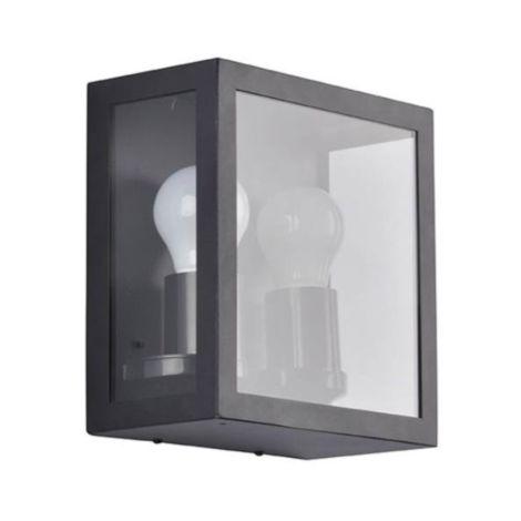Extérieures Design Corep Applique Toscane Lampes 2 Métal Noir 653726 wOk8n0PX