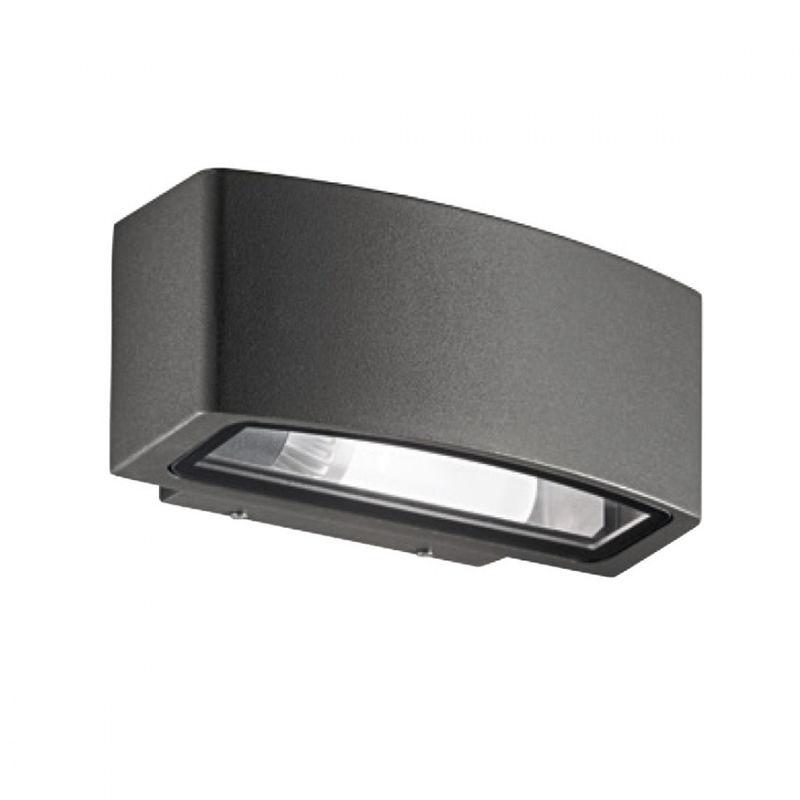Applique ge ges700 ges701 ges702 e27 led esterno alluminio lampada