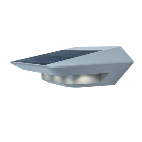 Applique Grise GHOST, LED Intégrée, 2W, 260 lumens, 4000K, IP44, SOLAIRE, Classe III