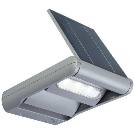 Applique Grise MINI LEDSPOT, LED Intégrée, 2W, 200 lumens, 4000K, IP44, SOLAIRE, Classe III