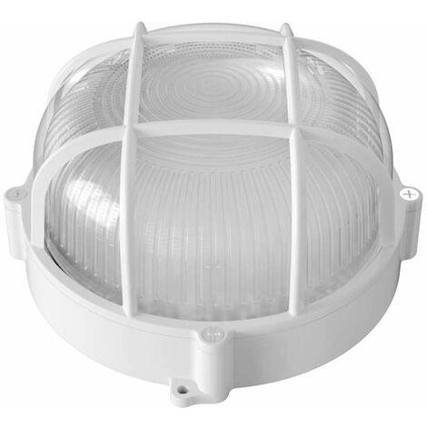 Applique Hublot Ovale LED 12W IP65 Équivalent 100W - Lumière Blanc Chaud 2700K