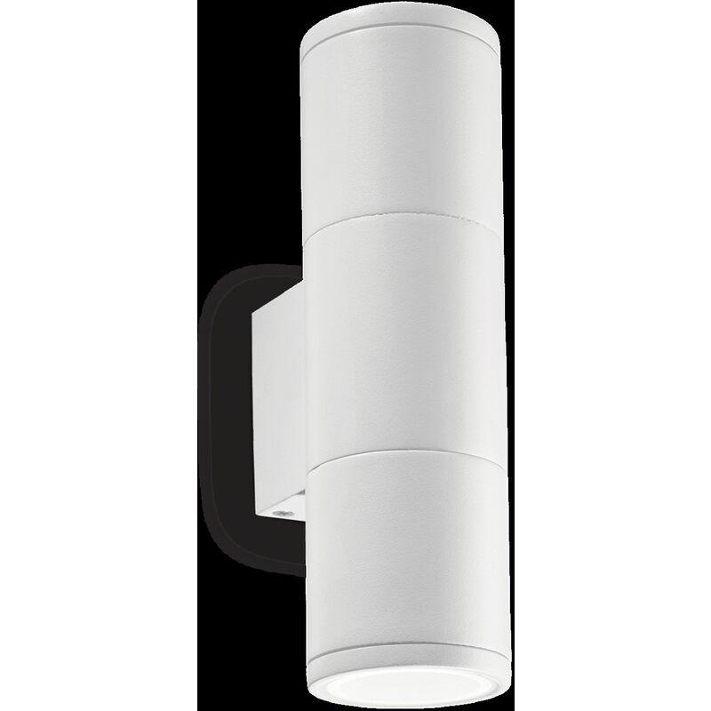 Ideal Lux - Gun applique attacco gu10 in alluminio colore bianco 100388