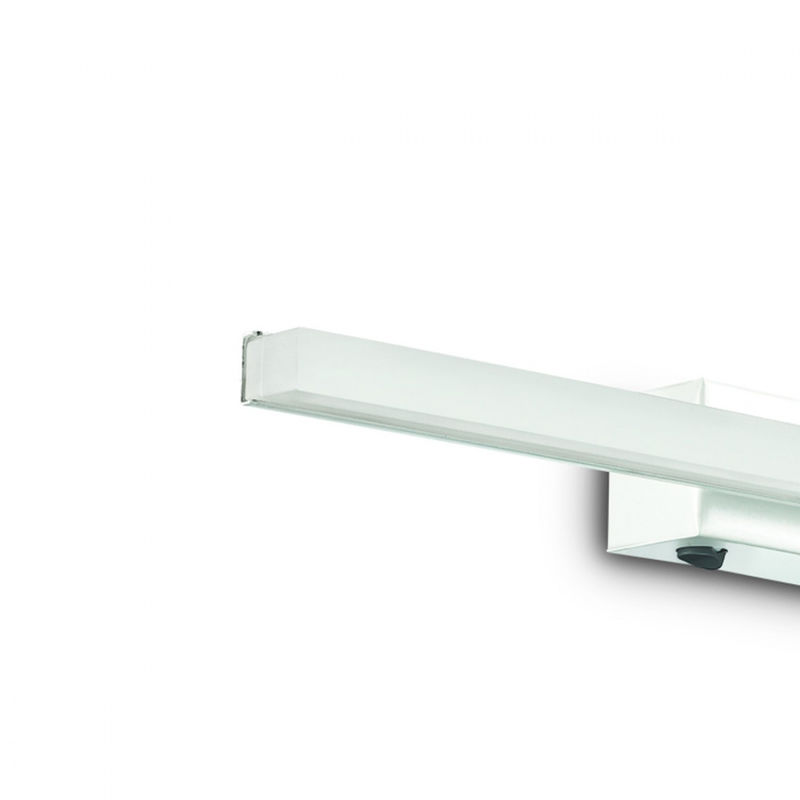 Applique id line ap led cm luce diffusa metallo cromo bianco