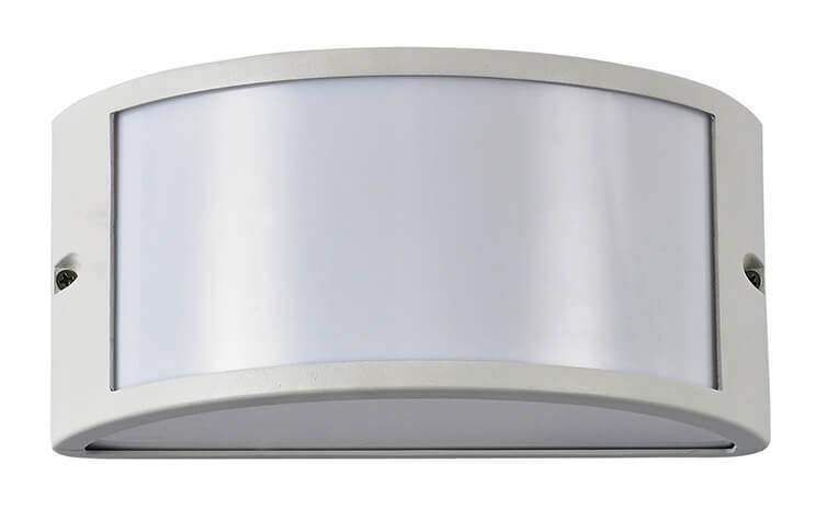 Applique id rex ap e led ip alluminio antracite bianco