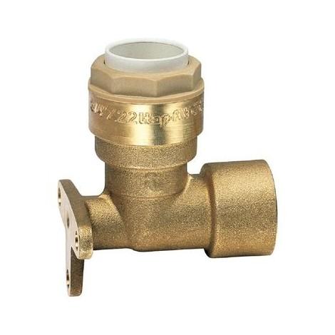 Applique laiton à emboîtement - F 1/2' - Ø 14 mm - Itap-Fit - Itap