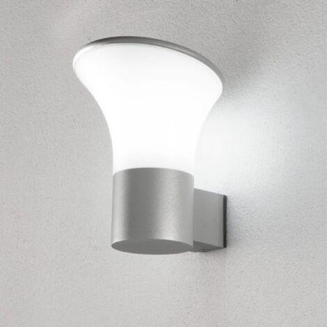 Muro esterno lampada Idris luce sopra e sotto lampade in alluminio mondo LAMPADA MURO ESTERNO