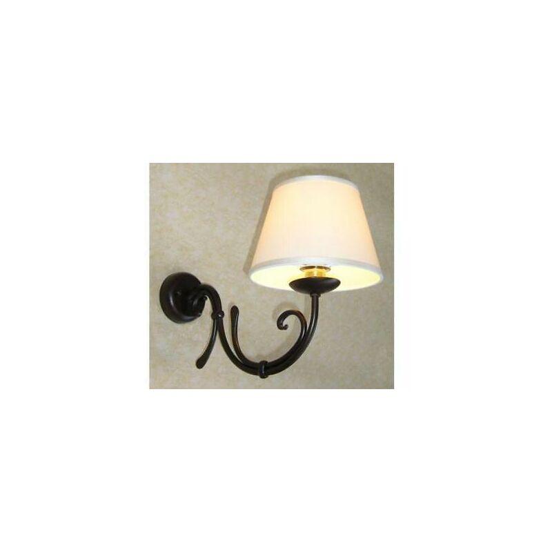 Cruccolini - Applique lanterna loira 1 luce d18 in ferro battuto lampade lampione lanterne