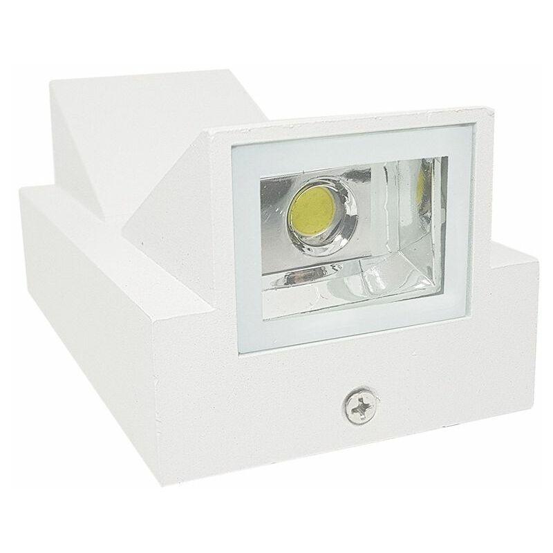 Applique led w bianco lampada luce calda plafoniera faretto